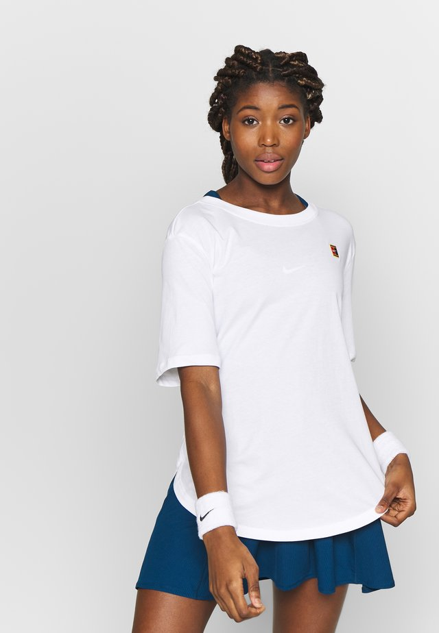 TEE COURT - Camiseta básica - white