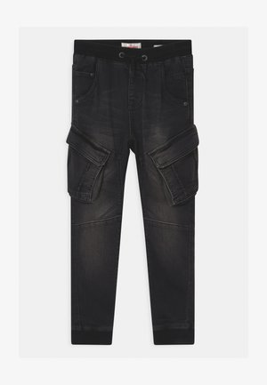 CARLOS - Relaxed fit jeans - black vintage