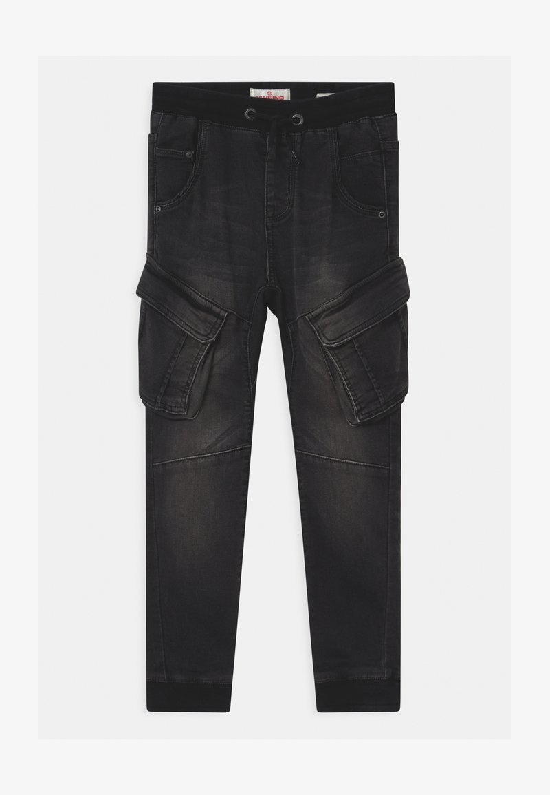 Vingino - CARLOS - Relaxed fit jeans - black vintage