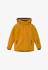 TrollKids - KIDS HOLMENKOLLEN SNOW JACKET PRO - Snowboardjakke - golden yellow/mystic blue - 5