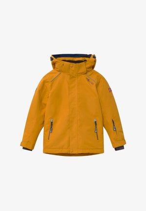 KIDS HOLMENKOLLEN SNOW JACKET PRO - Snowboard jacket - golden yellow/mystic blue