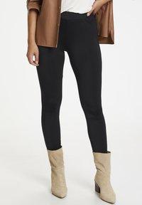 Kaffe - Leggings - Trousers - black deep - 0