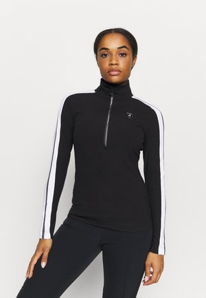 ELIN - T-shirt à manches longues - black