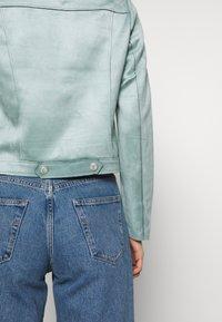 comma - JACKET - Faux leather jacket - smokey blue - 6