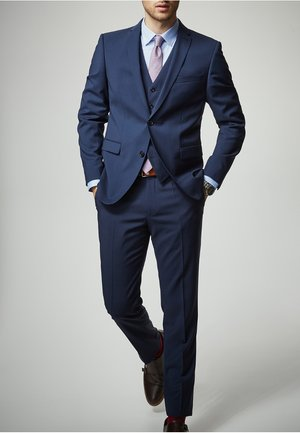 RYAN - Suit trousers - blue