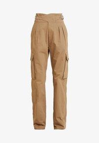 Diesel - CHIKU - Spodnie materiałowe - beige - 6