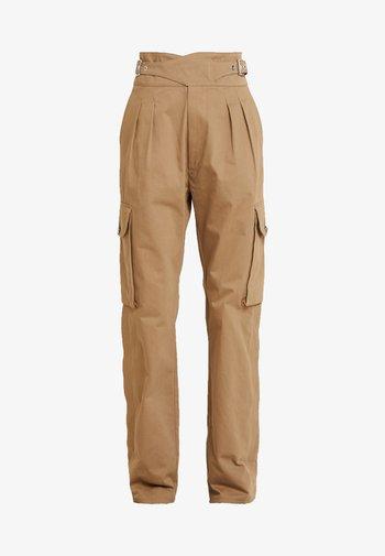 CHIKU - Kalhoty - beige
