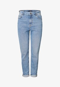 Pieces - Relaxed fit jeans - light blue denim - 4