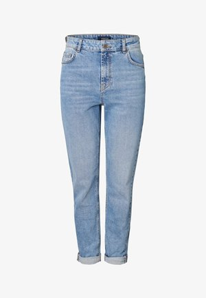 Vaqueros boyfriend - light blue denim