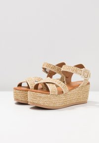 Tata Italia - Platform sandals - beige - 4