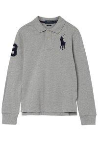 Polo Ralph Lauren - SLIM - Poloshirt - light grey heather - 2