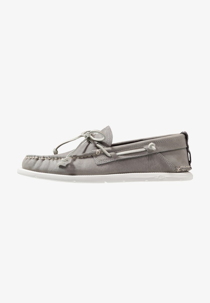 UGG - BEACH MOC SLIP ON - Chaussures bateau - sel