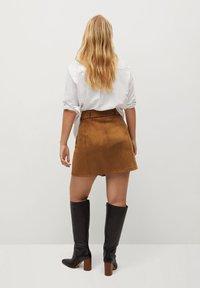 Violeta by Mango - SEVEN - A-line skirt - schokolade - 2