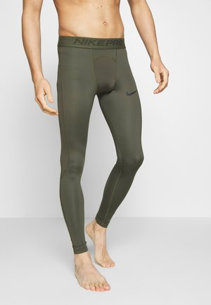 Tights - cargo khaki/black