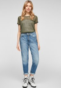 QS by s.Oliver - Blouse - olive - 1