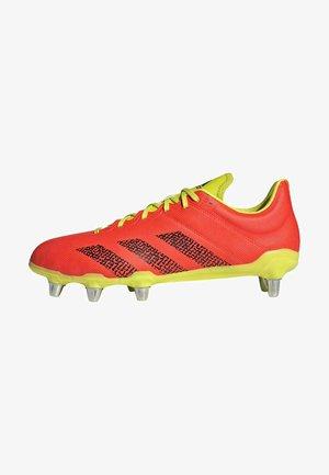 Voetbalschoenen met kunststof noppen - orange
