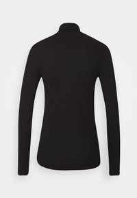 Tommy Hilfiger - SKINNY ROLL - Long sleeved top - black - 1