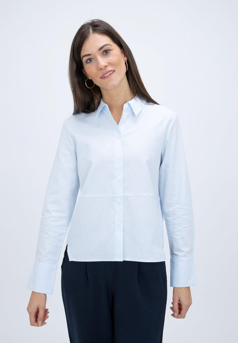 someday. - Button-down blouse - light blue