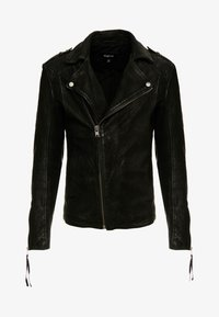 Tigha - ELON BUFFED - Chaqueta de cuero - black - 5