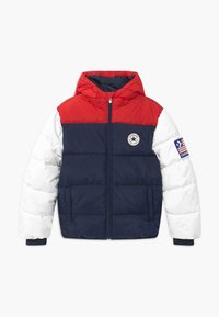 Converse - BOYS VARSITY PUFFER - Giacca invernale - obsidian - 0