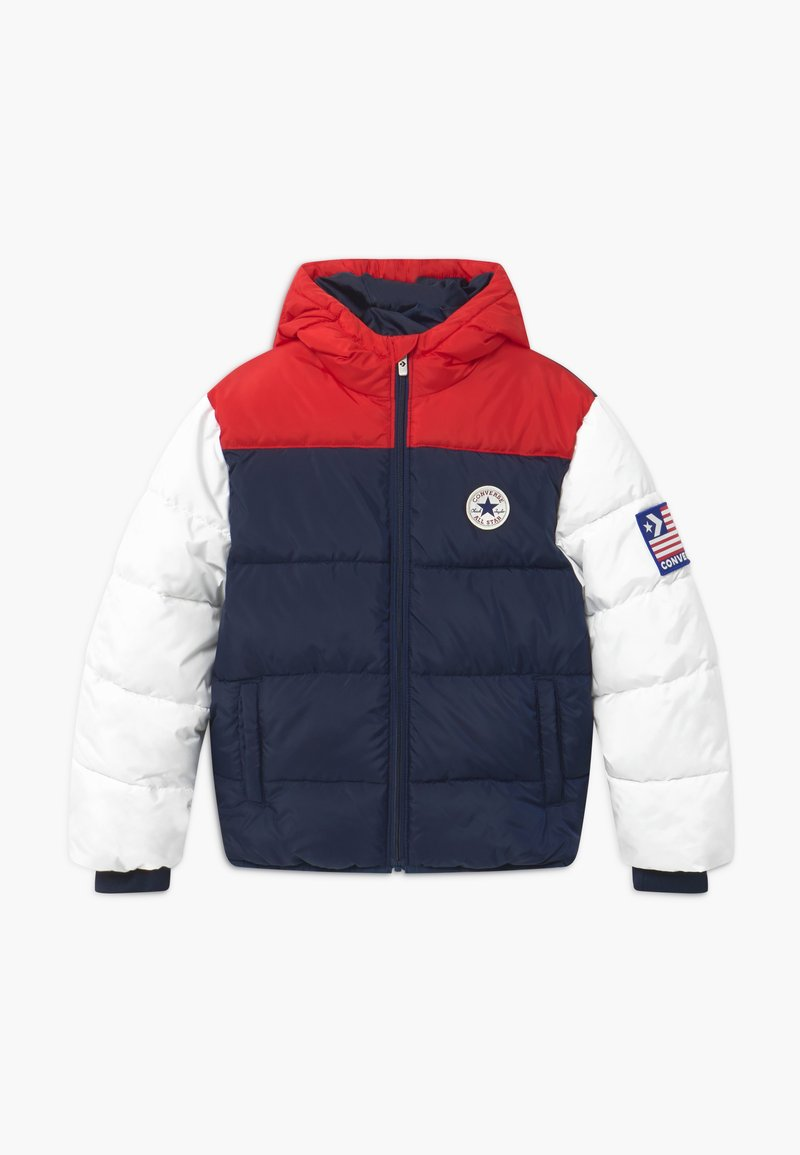 Converse - BOYS VARSITY PUFFER - Giacca invernale - obsidian