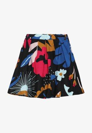 JUPE - Áčková sukně - charbon