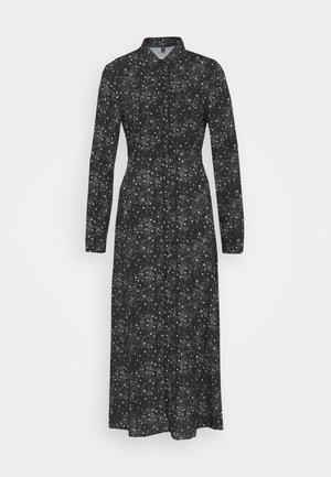 PRINTED DRESS - Maksimekko - black