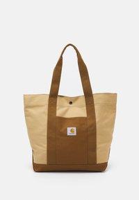 Carhartt WIP - WORK TOTE UNISEX - Velika torba - hamilton brown/dusty brown - 1