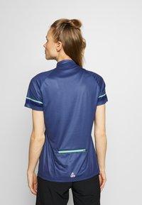 LÖFFLER - BIKE PACE - Print T-shirt - plum - 2