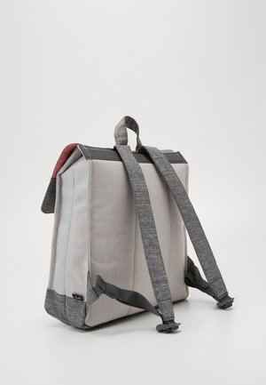 CITY MID VOLUME - Rucksack - raven crosshatch/vapor crosshatch/tan