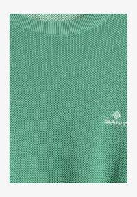 GANT - C NECK - Stickad tröja - grün - 2