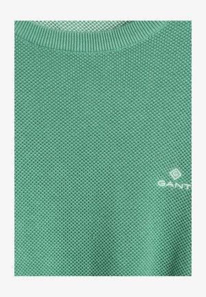 C NECK - Jumper - grün
