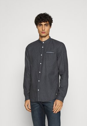 SMALL PATTERNED JACQUARD - Camicia - blue