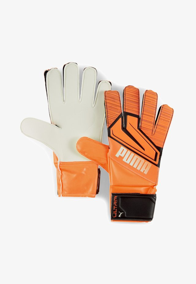 Maalivahdin hanskat - shocking orange-white-black