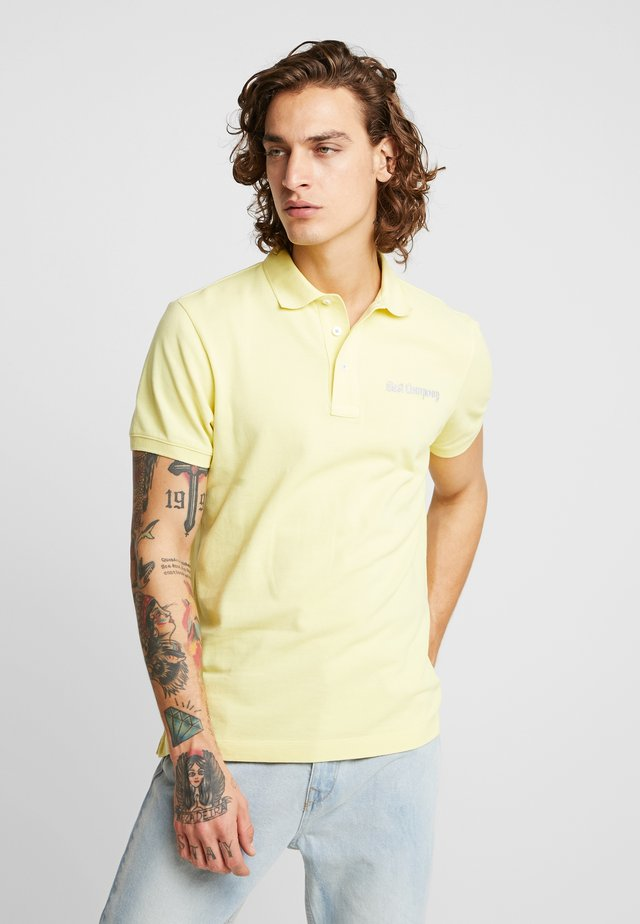 BASIC - Koszulka polo - yellow
