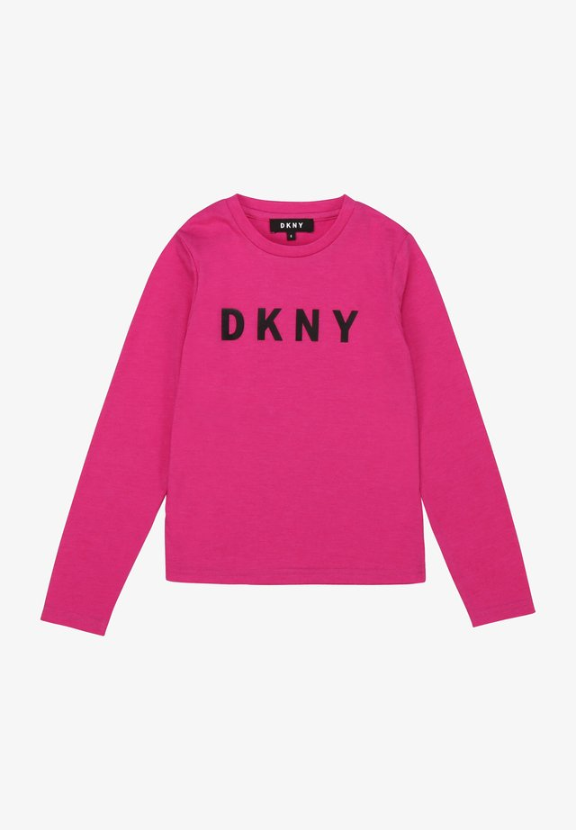 T-shirt à manches longues - rose fuchsia