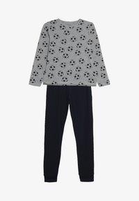 Name it - NKMNIGHTSET FOOTBALL - Pyjama set - grey melange - 4