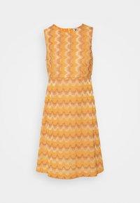 M Missoni - SLEEVELESS DRESS - Jumper dress - pumpkin - 3