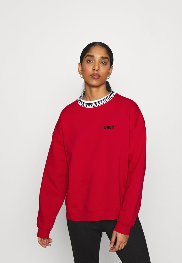REGINA CREW - Sweatshirt - red