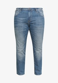 TOM TAILOR MEN PLUS - 5 POCKET  - Slim fit jeans - mid stone wash denim - 3