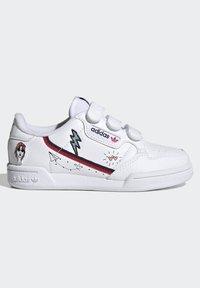 adidas Originals - CONTINENTAL 80 SHOES - Zapatillas - ftwr white/collegiate navy/scarlet - 6