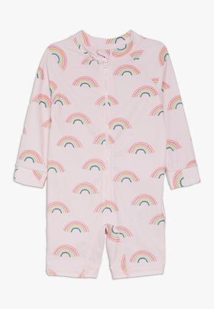 HARRIS ONE PIECE BABY - Badpak - barely pink rainbow dreams