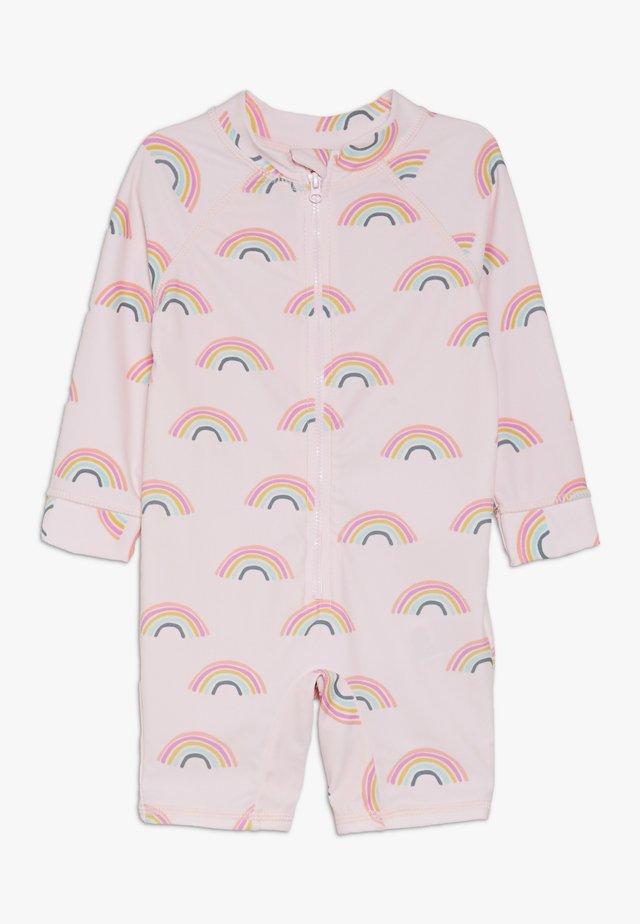 HARRIS ONE PIECE BABY - Kostium kąpielowy - barely pink rainbow dreams