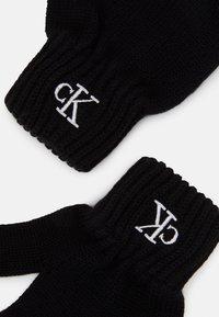 Calvin Klein Jeans - MONOGRAM GLOVES - Handschoenen - black - 2