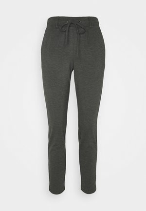 PANTS ANKLE - Trousers - alloy grey melange