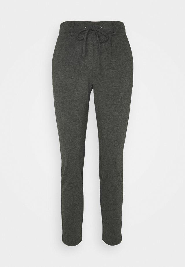 PANTS ANKLE - Pantalones - alloy grey melange