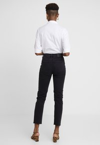 ONLY - ONLEMILY RAW - Jeansy Skinny Fit - black denim - 2