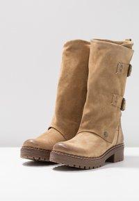 Musse & Cloud - MARVIN - Cowboystøvler - sand - 4