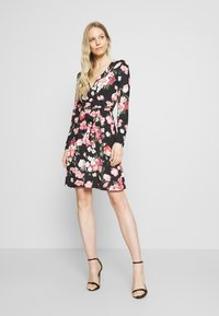 Anna Field - Day dress - black/pink - 0