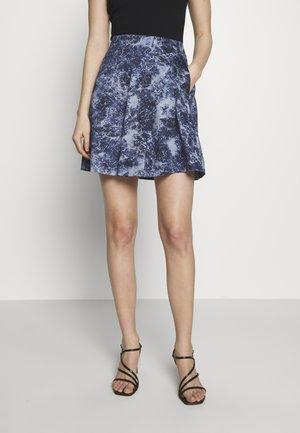 PATRONO - A-line skirt - cornflower blue